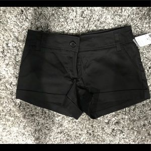 Forever 21 black shorts NWT size XS